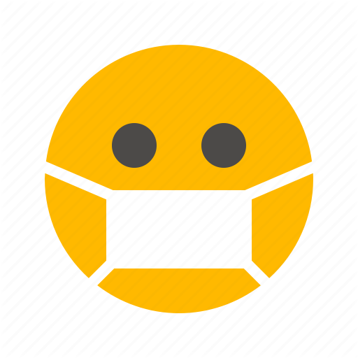 mask sick take care of your health flu health emoji expression face emoticon fever ill influenza lifestyle treatment sneeze epidemic